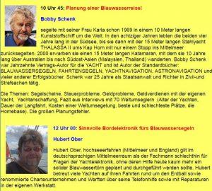 Bobby Schenk Seminar